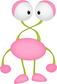236x351 Pink Monster Cliparts