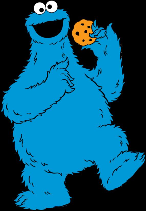 570x823 Baby Cookie Monster Clip Art