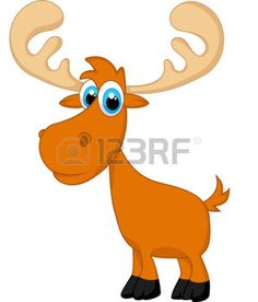 236x276 Instant Download Moose Clipart Moose Heads Woodland