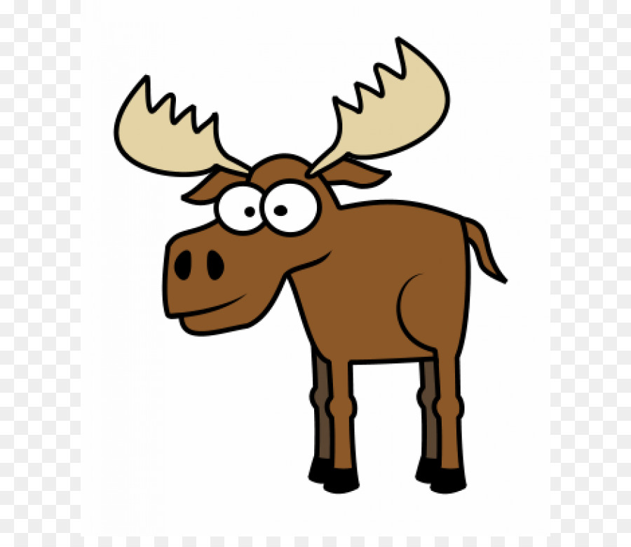 900x780 Moose Deer Drawing Cartoon Clip Art