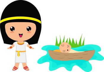 Baby Moses Clipart