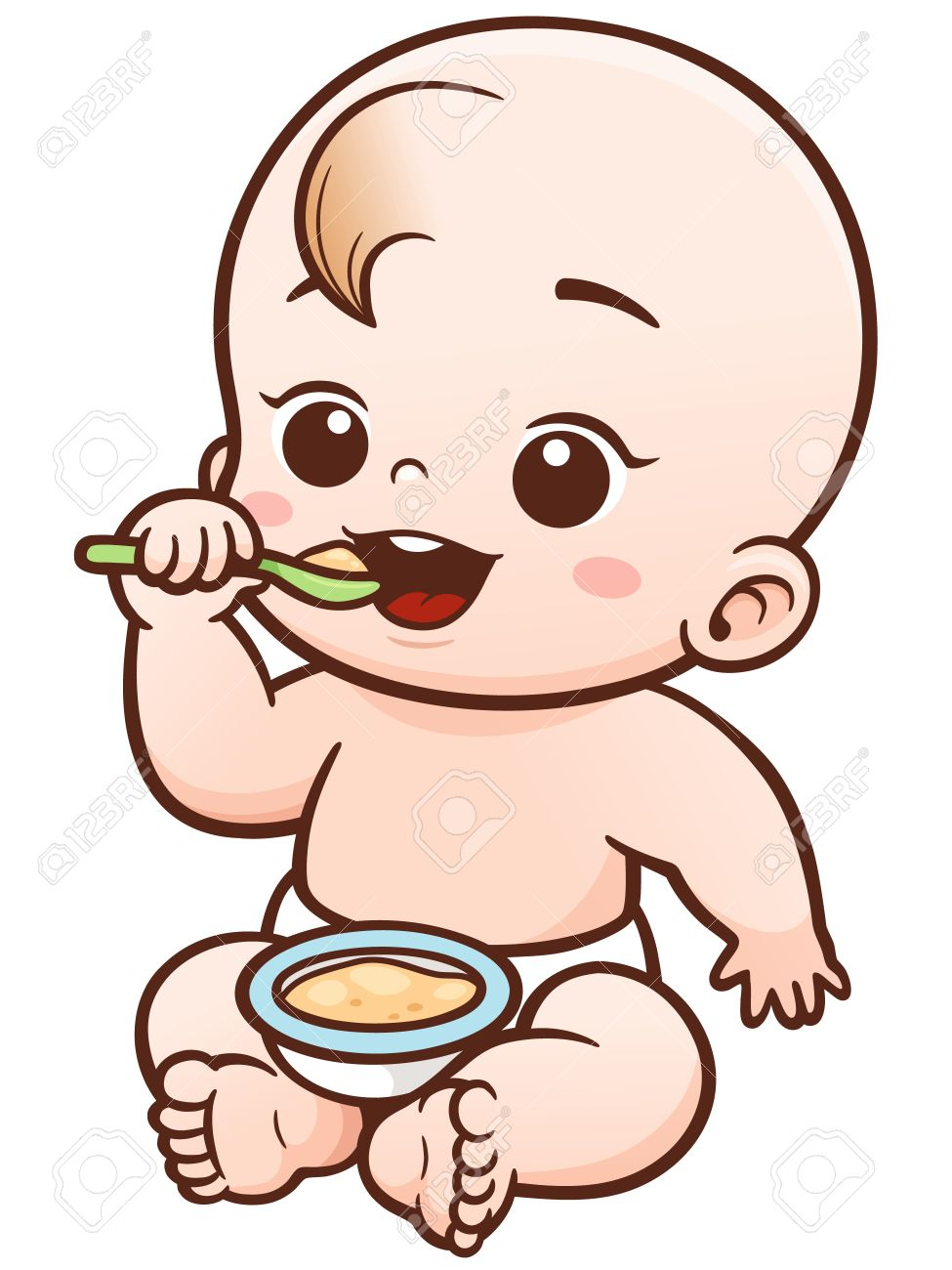 975x1300 Baby Eating Clipart Baby Eating 1244704