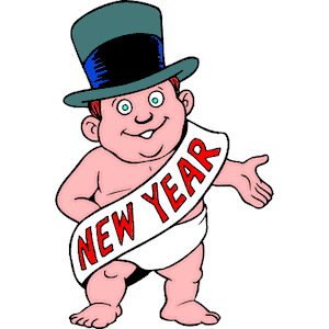 300x300 Baby New Year Clipart, Cliparts Of Baby New Year Free Download