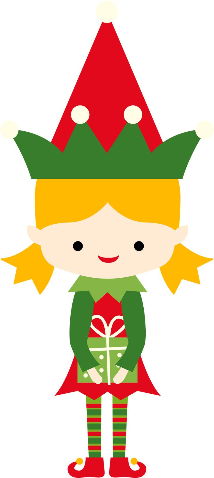 736x1637 Clipart Elf Template Merry Christmas Amp Happy New Year Arts