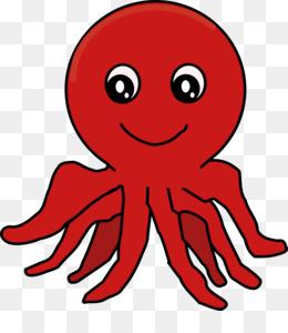 260x300 Octopus Cartoon Clip Art