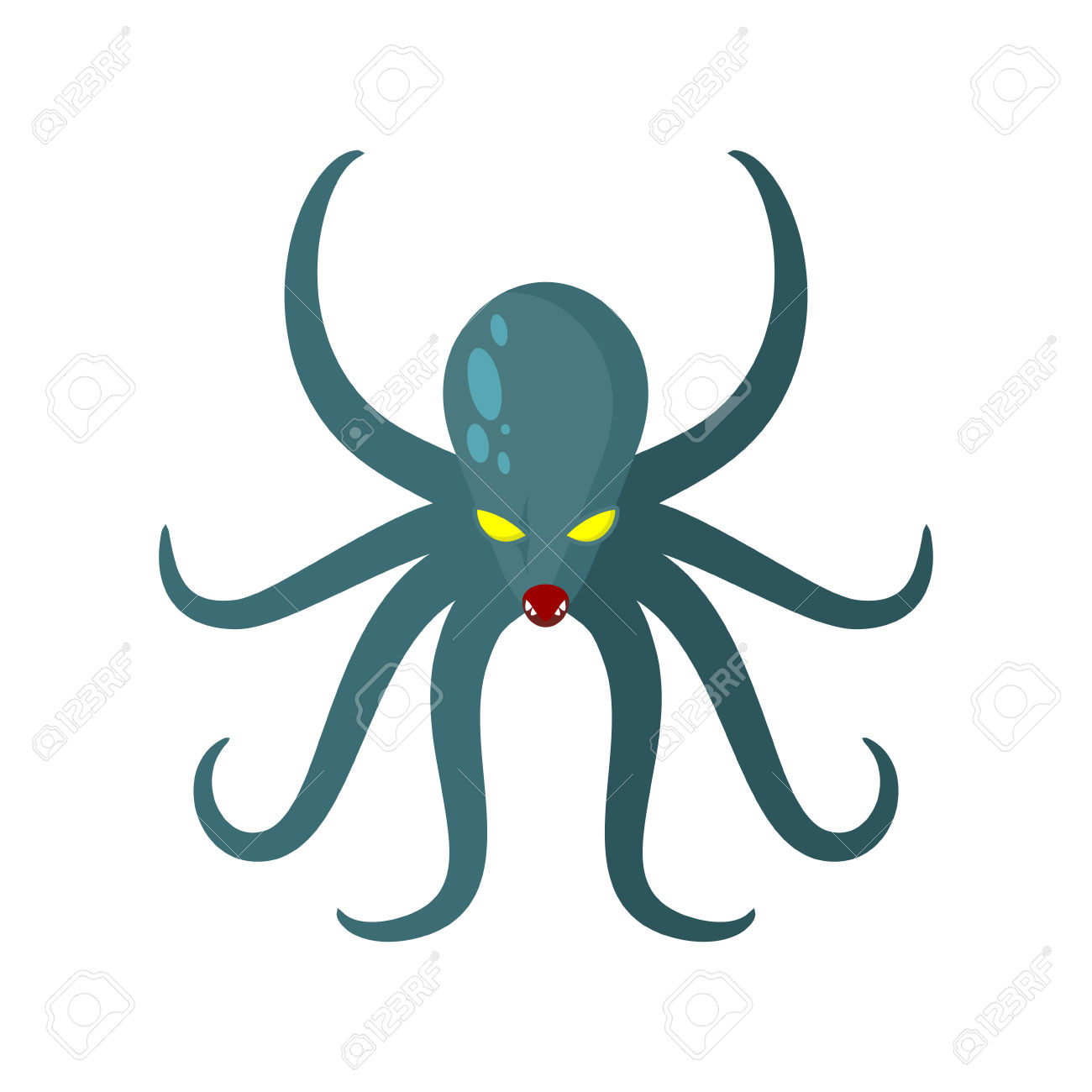 1300x1300 Octopus Clipart Octupos Free Collection Download And Share