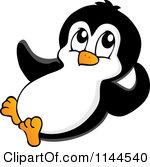 150x167 Clip Art Baby Penguins Sliding Clipart