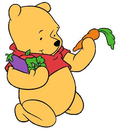 Baby Pooh Bear Clipart