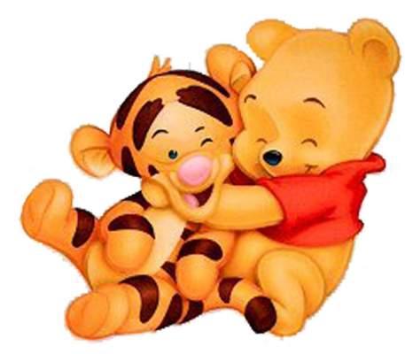 457x400 Hug Clipart Baby Winnie The Pooh Friend