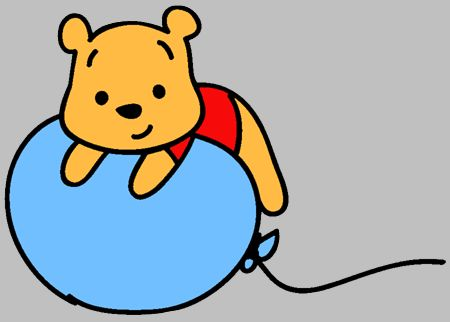 450x322 45 Best Clip Art Images On Pooh Bear, Disney Drawings