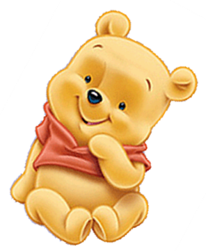 296x361 Winnie The Pooh Baby Shower Clipart