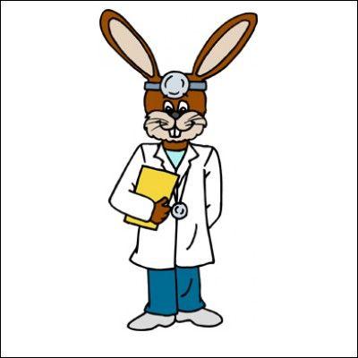 400x400 Bunny Clipart Doctor 3112289