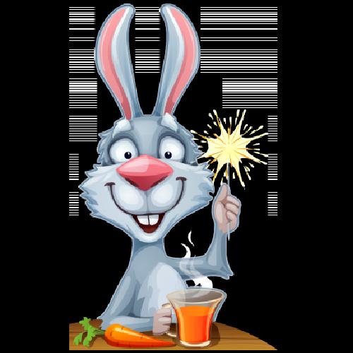 500x500 Baby Bunny Cartoon Clipart 14.