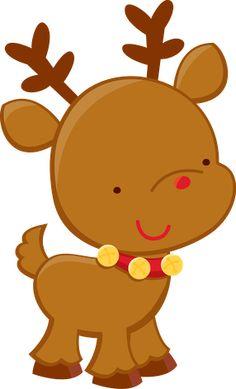 Baby Reindeer Clipart