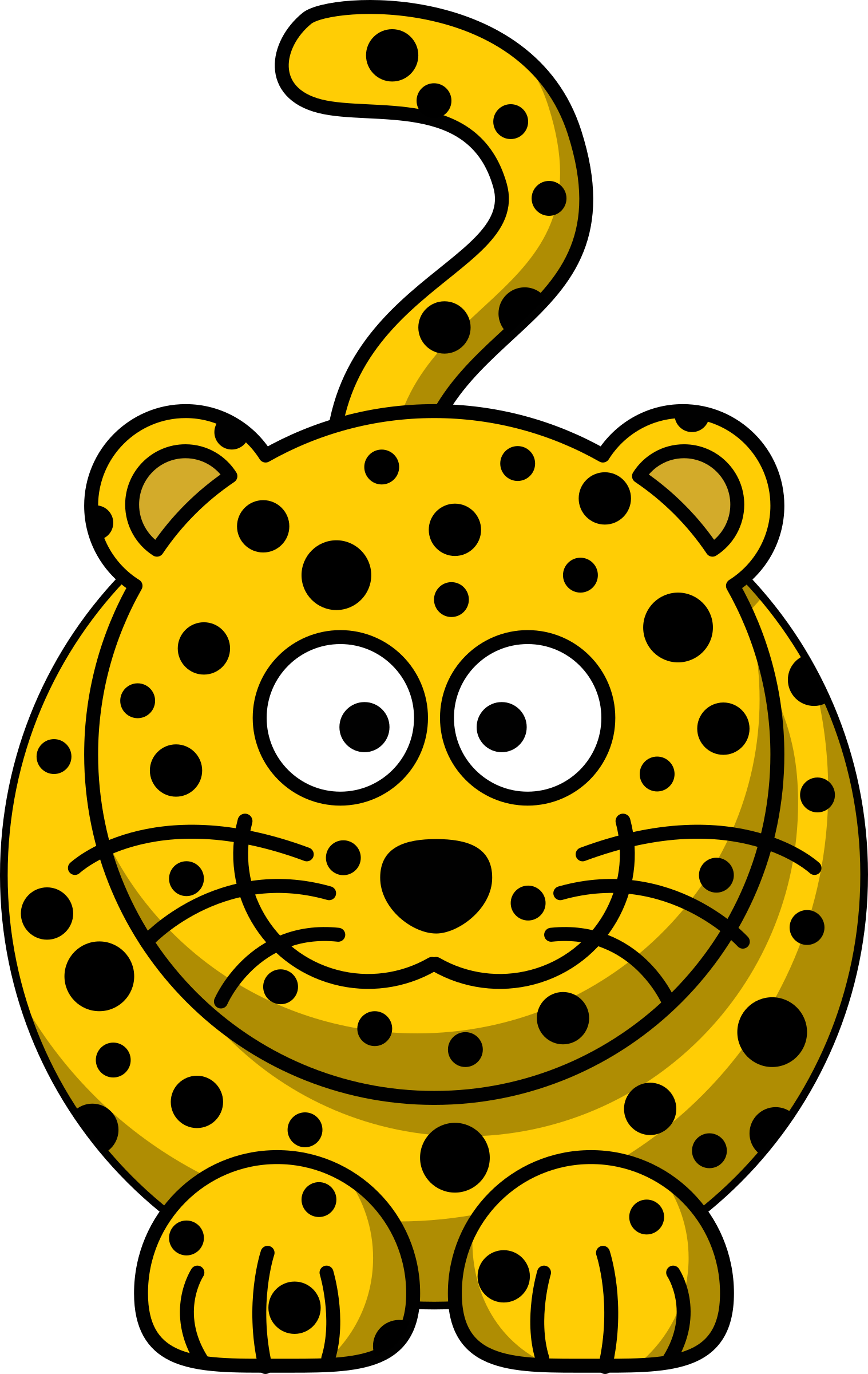 1517x2400 Clipart Cartoon Animal Clip Art Vector Funny Safari Yanhe Clip Art