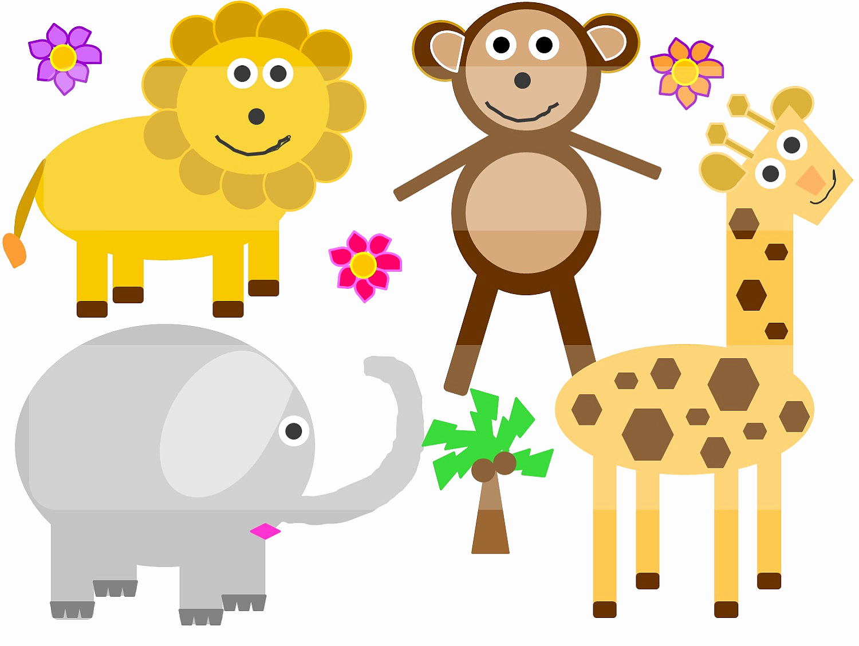 1500x1127 49 Unique Pictures Cute Safari Animal Clipart