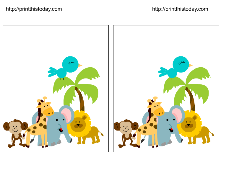 Baby Safari Animals Clipart at GetDrawings.com | Free for ...