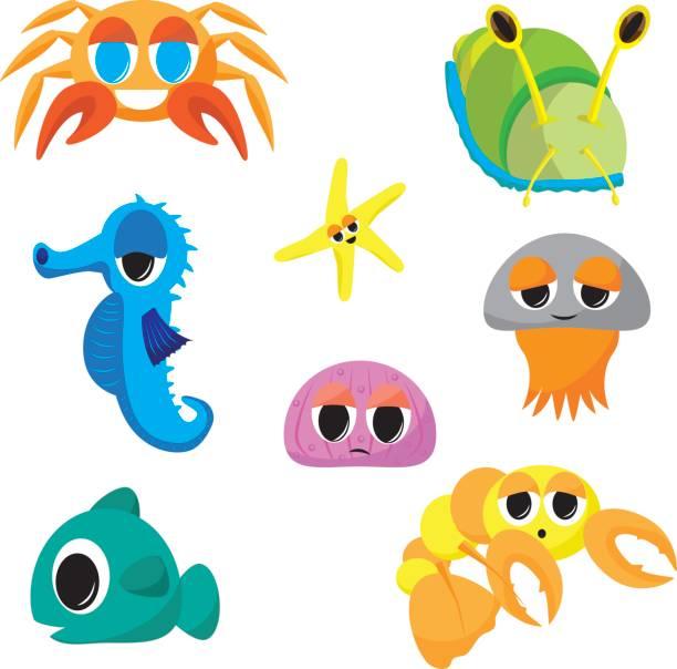 612x604 Baby Sea Animals Clipart