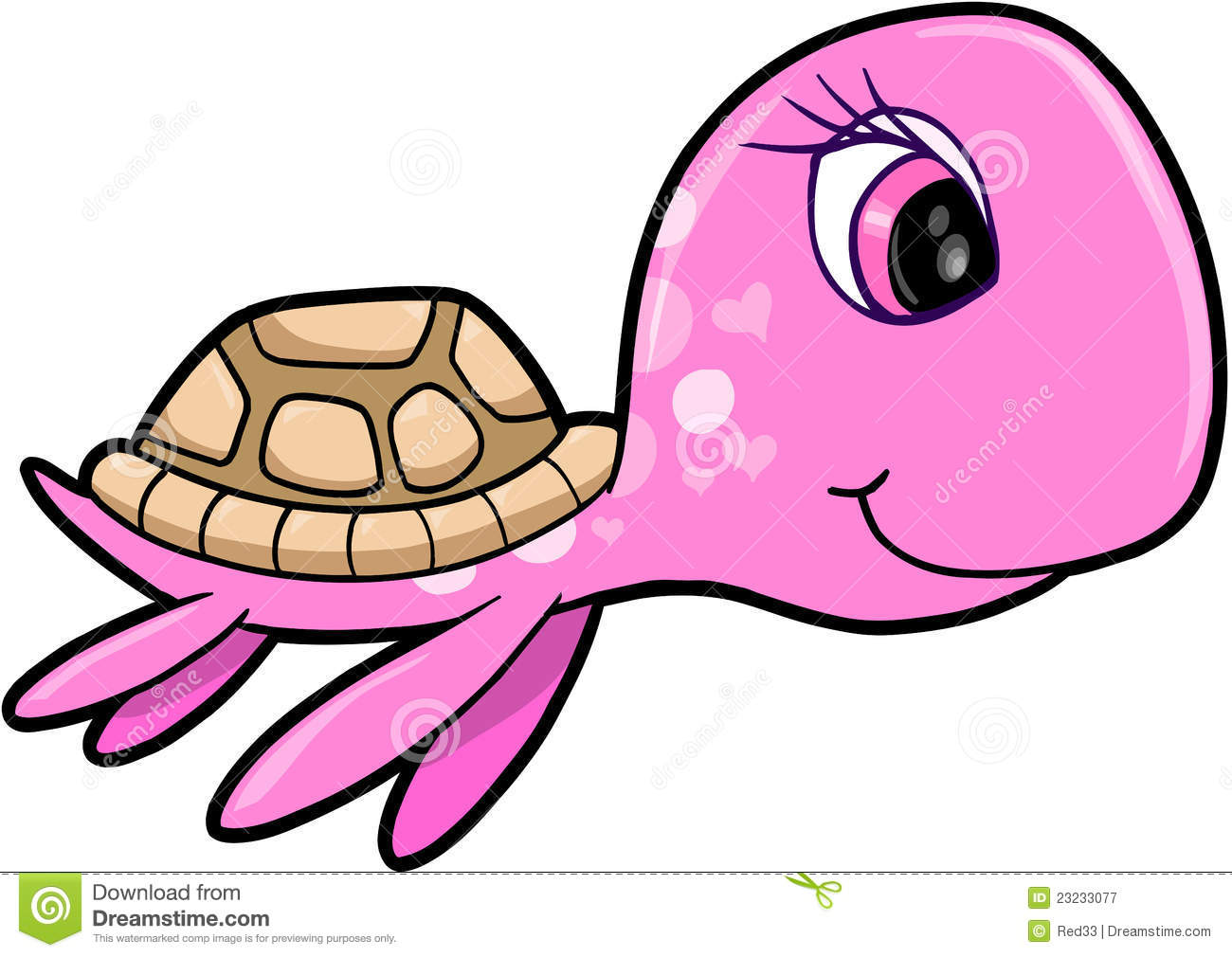 Baby Sea Turtle Clipart