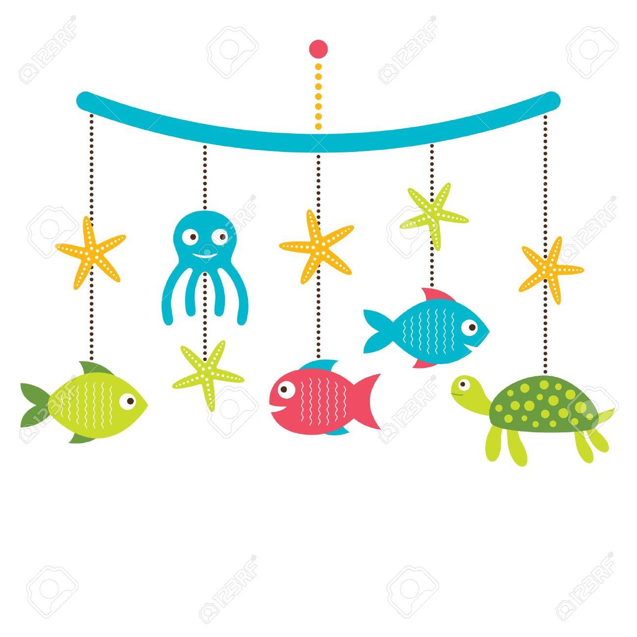 1300x1300 Baby Sea Animals Clipart (80 ), Baby Crib Cartoon