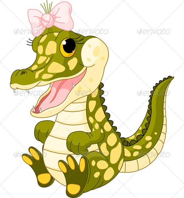 590x637 Alligator Baby Cartoon Alligator Clipart, Explore Pictures