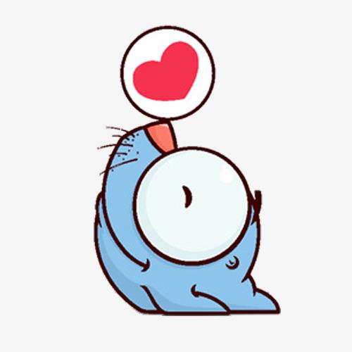 500x500 Cartoon Baby Seals, Cartoon, Small Posters, Seal Png Image