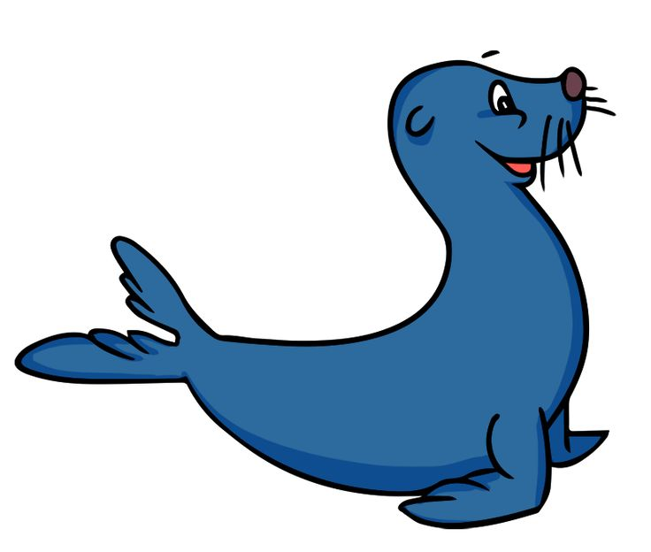 736x624 Harp Seal Clipart Animated