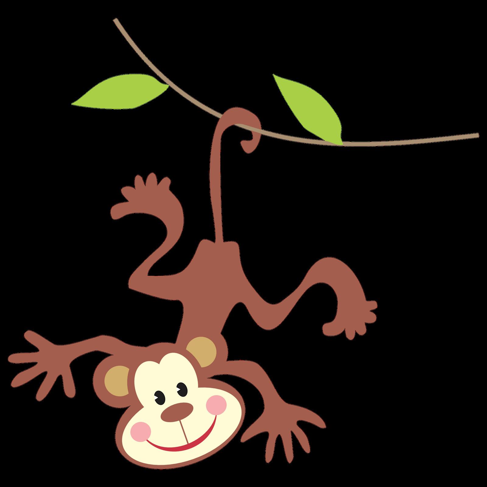 1600x1600 Monkey Baby Shower Clip Art