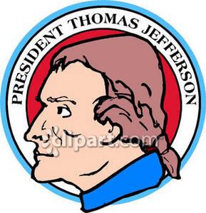 289x300 Thomas Jefferson Seal Clipart Picture