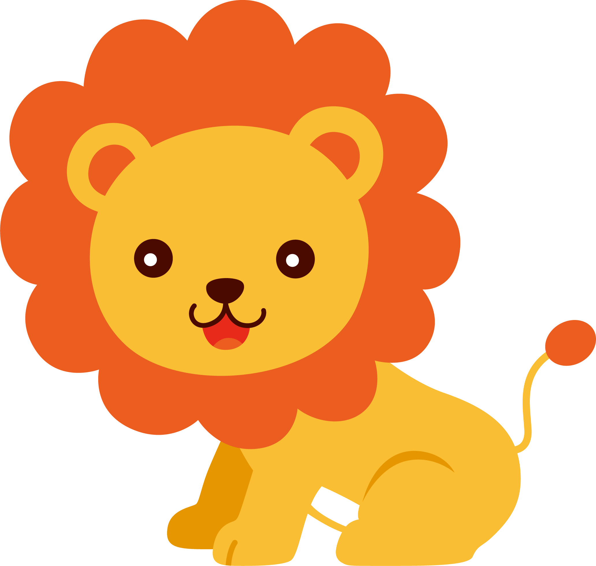 2063x1958 Baby Lion Clipart Free Download Clip Art