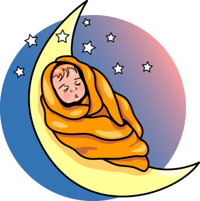 398x400 Image Baby On The Moon Baby Clip Art
