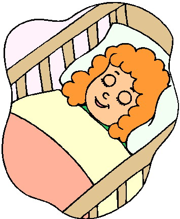 355x432 Baby Sleeping Clipart