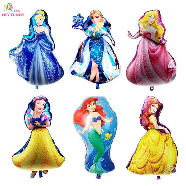 640x640 Hey Funny 5 Pcsset Large Aurora Cinderella Snow White Elsa Five