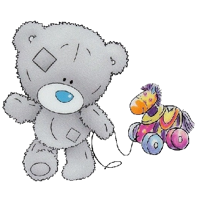 400x400 Teddy Bear Clipart