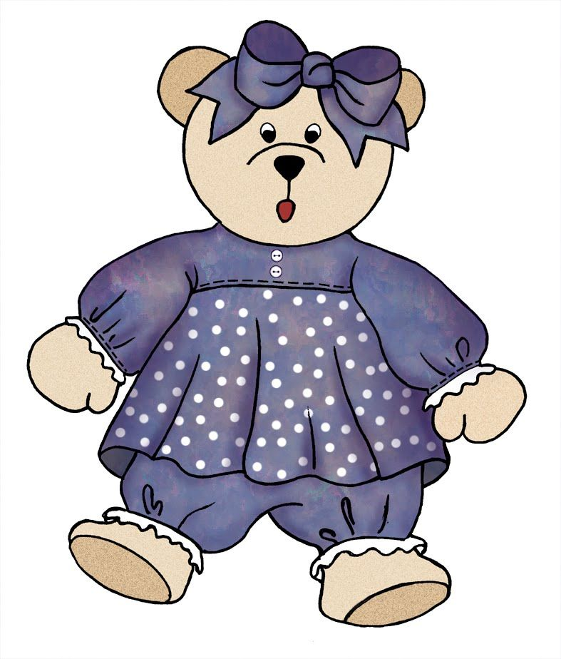 787x924 Girl Teddy Bear Clip Art 215855.jpg Teddy Purple