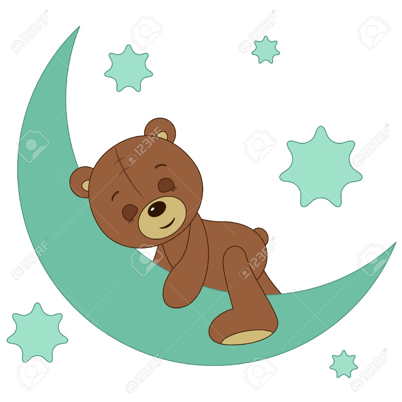 1300x1300 Baby Blue Teddy Bear Clip Art (38 )