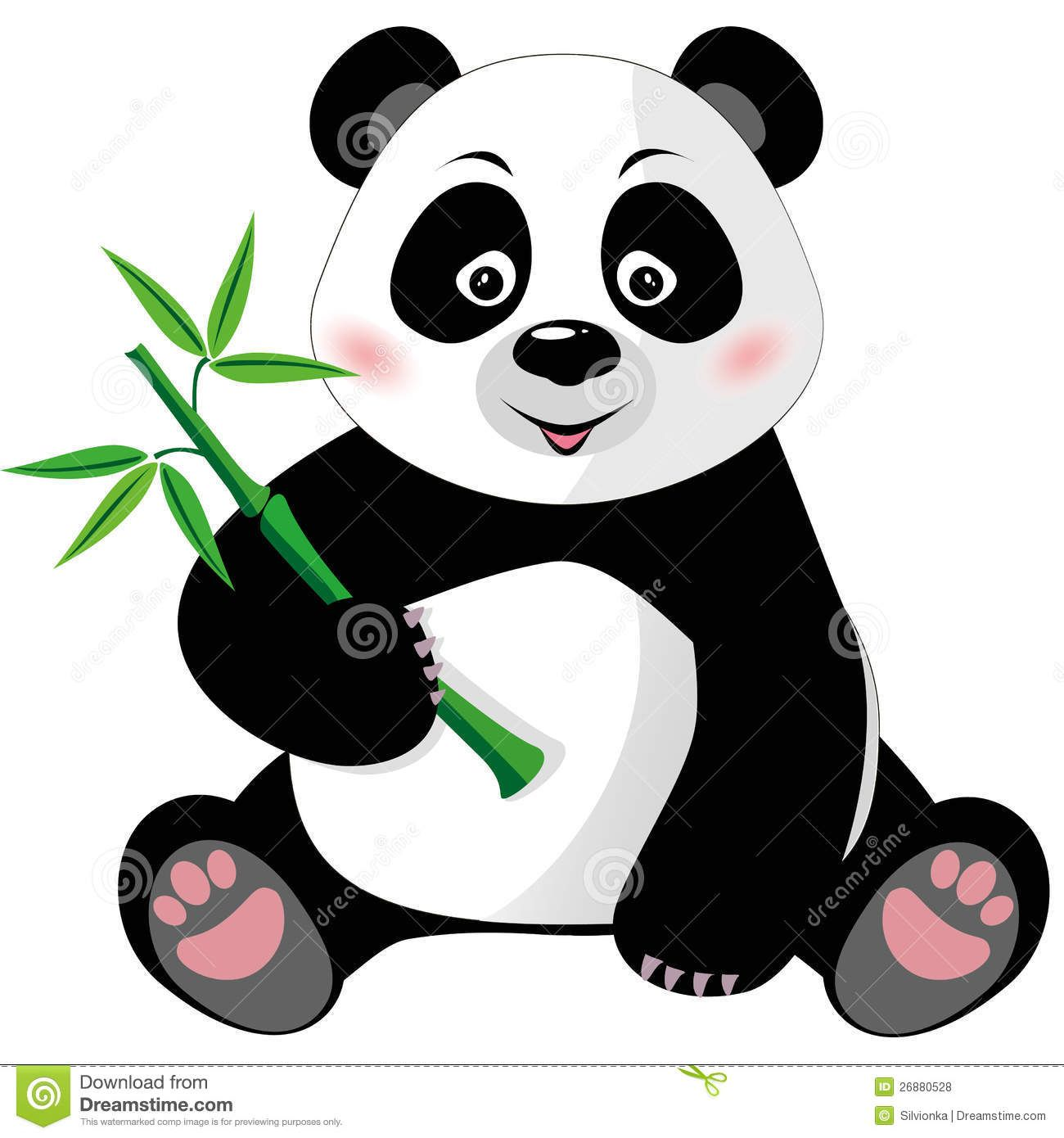 1300x1390 Bold Design Ideas Panda Bear Clipart Baby Clip Art Cuties Black