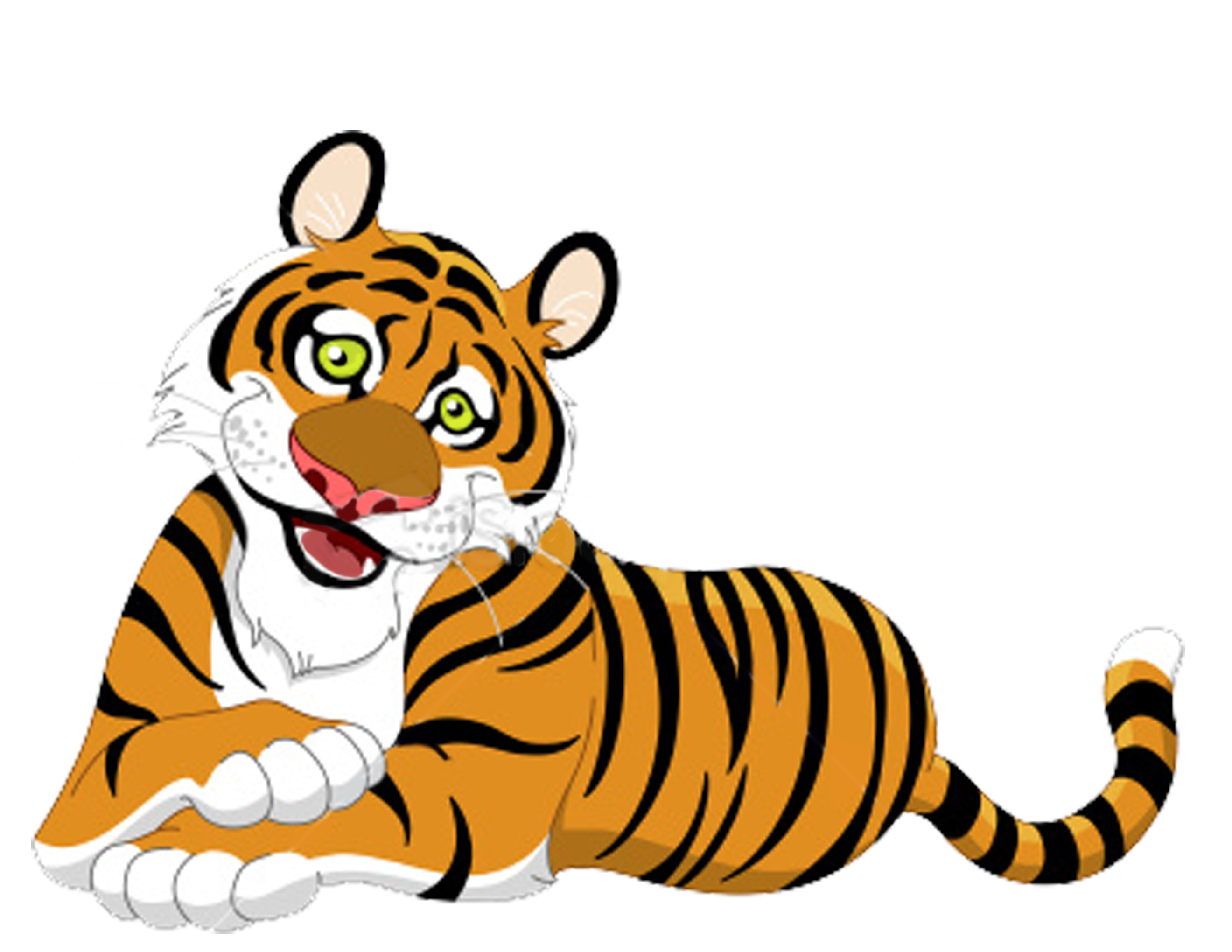 2640x2040 Tiger Clip Art For Clipart Panda