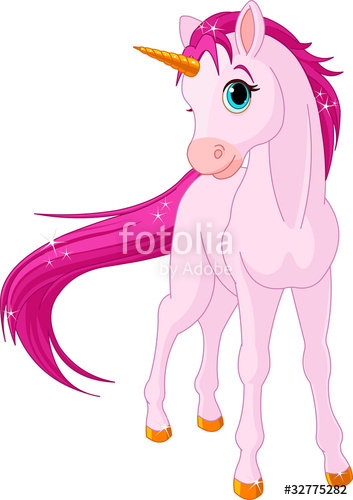 353x500 Baby Unicorn Stock Image And Royalty Free Vector Files On Fotolia
