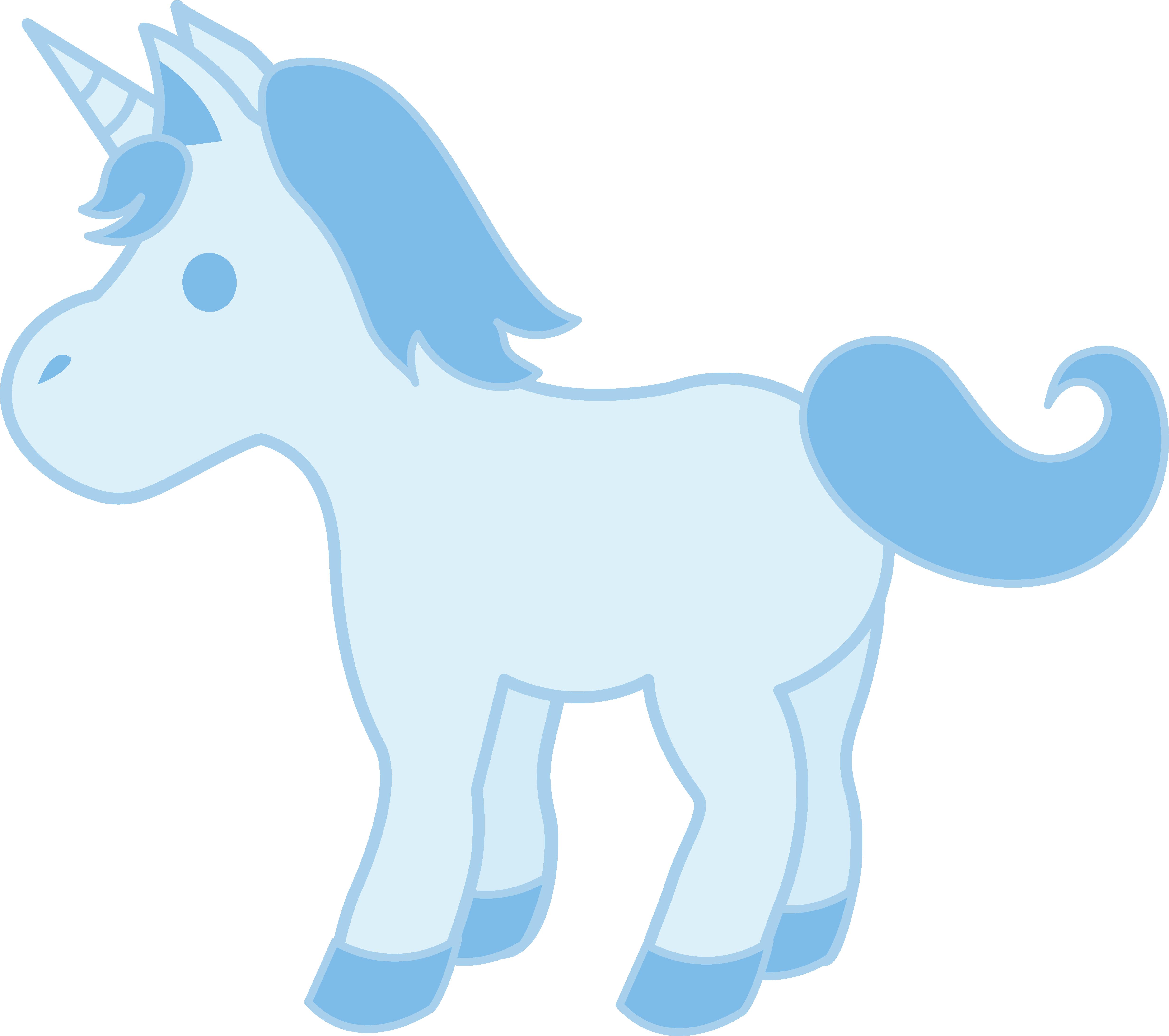 4926x4366 Cute Baby Blue Unicorn