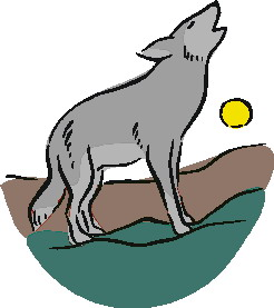 246x277 Baby Wolf Clipart