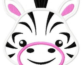 340x270 Face Of Zebra Clipart