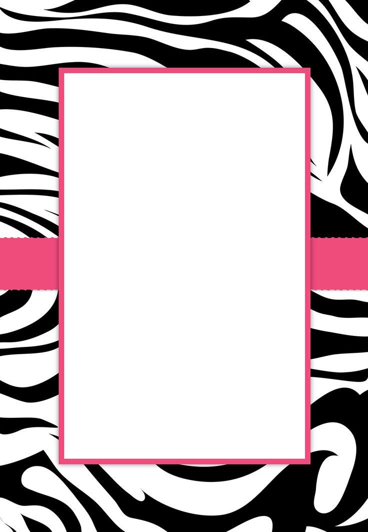 736x1063 Zebra Frame Clip Art 101 Clip Art