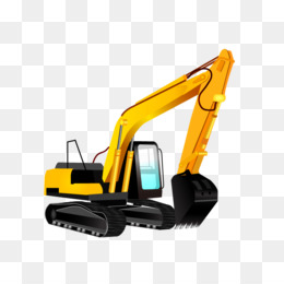 260x260 Excavator Heavy Equipment Backhoe Clip Art