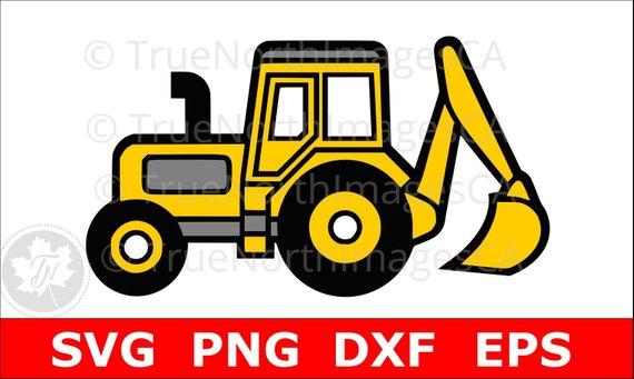 570x341 Excavator Svg Excavator Clipart Excavator Clip Art