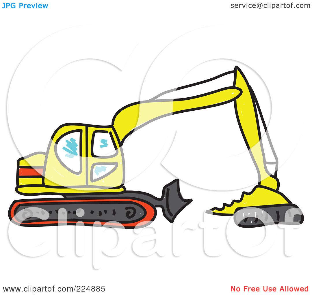1080x1024 Royalty Free (Rf) Clipart Illustration Of A Sketched Yellow