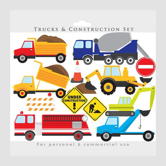 570x570 Trucks Clipart Construction Clip Art Von Winchesterlambourne