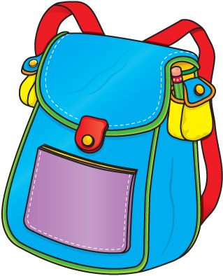 319x394 Backpack Clipart Backpacks, Clip Art And Crayons