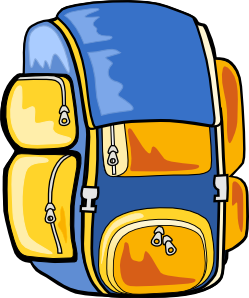 249x298 Backpack Clip Art