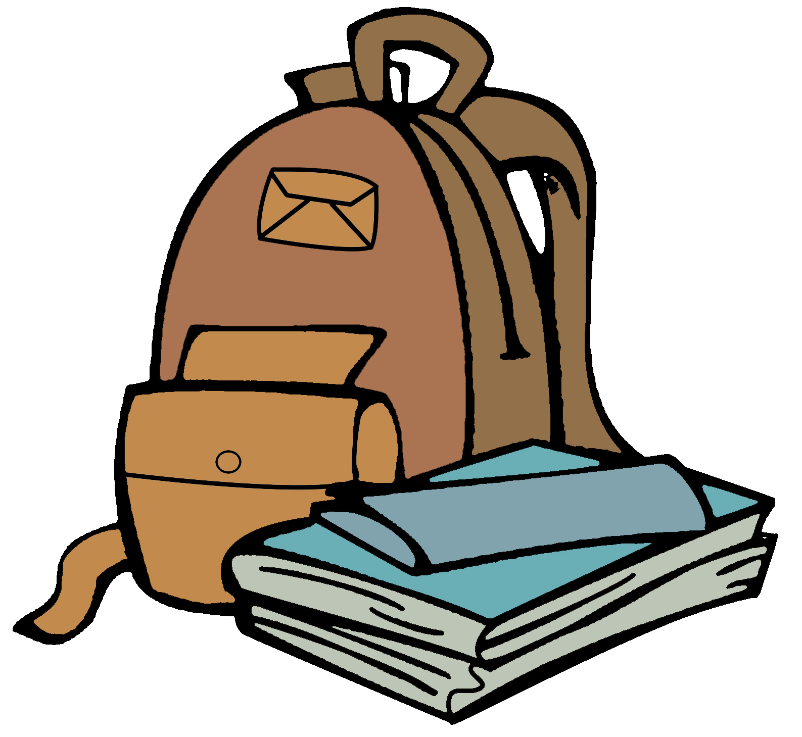 1587x1459 Backpack Clipart Image Clip Art Image Of A Red Backpack Image